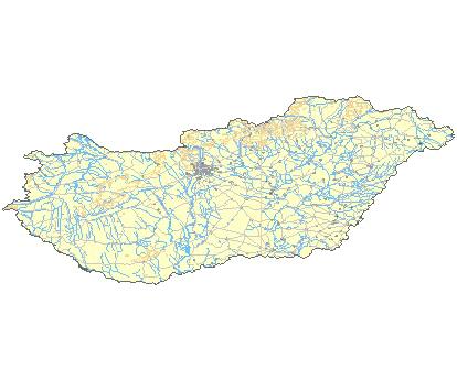 ungarn guth landkarte