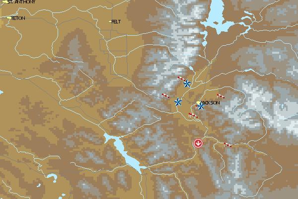 Paragliding365 - Fluggebiete - Nordamerika - USA - Wyoming ...