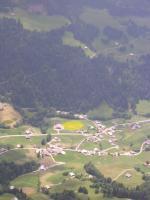 "Paragliding Fluggebiet Europa » Frankreich » Rhone-Alpes,Le Grand Bornand,ALTER Landeplatz ""le Bouchet"": landen verboten!!!"