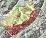 Paragliding Fluggebiet Europa » Frankreich » Rhone-Alpes,Passy / Plaine Joux,Flugverbotszonen am Mt.Blanc (2016): Starten, Landen und Überflug! > Frankreich: - LF-R30A: permanent! - LF-R30B: July-August > Italien: 4.8. - 15.9.2016  © parapente.ffvl.fr