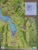 Paragliding Fluggebiet Europa » Frankreich » Rhone-Alpes,Annecy: Planfait,Übersicht