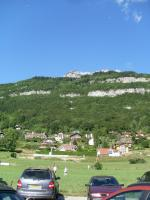 Paragliding Fluggebiet Europa » Frankreich » Rhone-Alpes,Annecy: Planfait,Blick vom Landeplatz