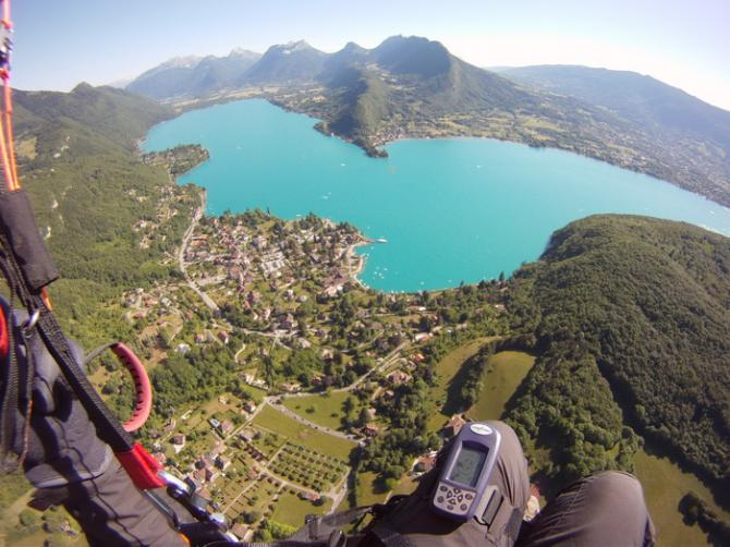 Talloires mit Lac Annecy