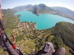 Paragliding Fluggebiet Europa » Frankreich » Rhone-Alpes,Annecy: Planfait,Talloires mit Lac Annecy