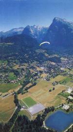 Paragliding Fluggebiet ,,Flug Samoens