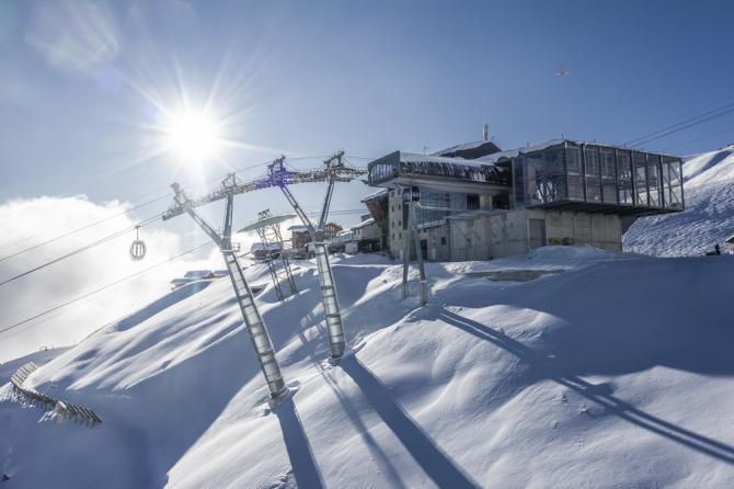 2020: Fiecheralp: neue Bergstation ©Aletscharena