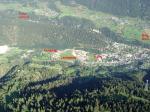 Paragliding Fluggebiet Europa » Schweiz » Wallis,Fiesch - Kühboden/Eggishorn,Landeplatz in Fiesch.