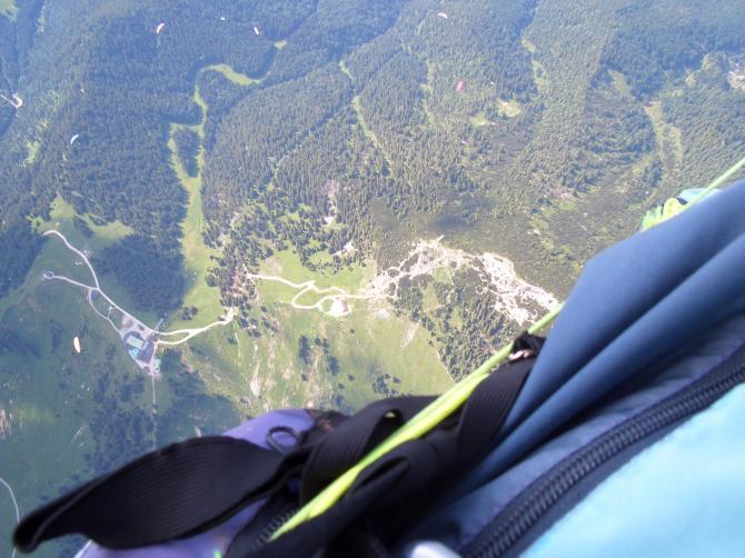 auf 2800m über dem Wallberg