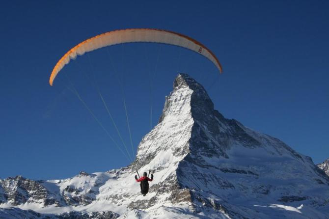 Auge in Auge mit dem Matterhorn!