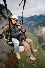 Paragliding Fluggebiet Europa » Schweiz » Bern,Männlichen - Tschuggen,das lauterbrunnental