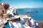 Paragliding Fluggebiet Europa » Schweiz » Luzern,Pilatus,Flugaufnahme von der Pilatus Bergstation.