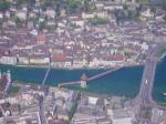 Paragliding Fluggebiet Europa » Schweiz » Luzern,Pilatus,Luzern von oben... Bild by Vaudee
