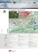 Paragliding Fluggebiet ,,Fluggebietstafel 2017 mit allen Informationen