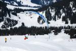 Paragliding Fluggebiet Europa » Schweiz » Schwyz,Hoch - Ybrig [Forstberg],14.3.2009 auch im Winter ein Genuss. Nur leider keine Thermik vorhanden.