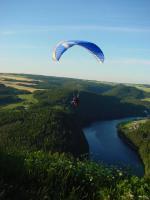 Paragliding Fluggebiet Europa » Deutschland » Thüringen,Altenbeuthen,Vor dem Startplatz