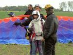 Paragliding Fluggebiet Europa » Deutschland » Niedersachsen,Dune de Börger,Tandemfliegen auf unserem Schleppgelände in Bunde