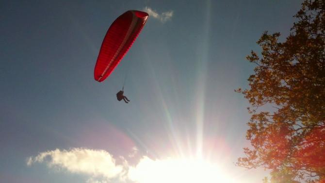- Flug in Opperzau - GS Swing Arcus 4