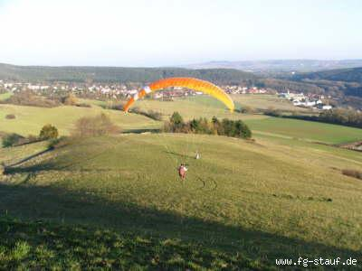 Der Startplatz in Stauf Blickrichtung OSO. Bild von der Homepage fg-stauf.de
