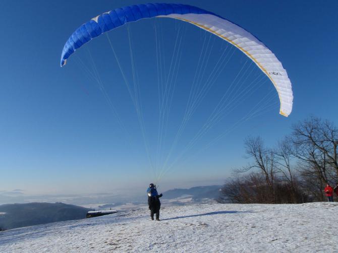 Gerhard C Startet zum Winterflug am 11.01.2009