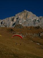 Paragliding Fluggebiet Europa » Schweiz » Uri,Mettenen - Alpler Tor,Startplatz ob Mettenen im Dezember 04