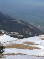 Paragliding Fluggebiet Europa » Schweiz » Glarus,Hirzli,Startplatz