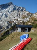 Paragliding Fluggebiet Europa » Deutschland » Bayern,Osterfelder,vorderer Startplatz am Osterfelder Richtung Ost