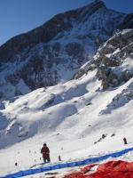 Paragliding Fluggebiet Europa » Deutschland » Bayern,Osterfelder,Startvorbereitungen