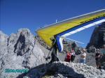 Paragliding Fluggebiet Europa » Deutschland » Bayern,Karwendelspitz,kurz vor dem Start