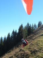Paragliding Fluggebiet Europa » Deutschland » Bayern,Jägerbauernalm Nagelspitz Jägerkamp,Start, Blick nach SO