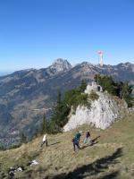 Paragliding Fluggebiet ,,Weststart mit Windsack