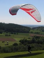 Paragliding Fluggebiet ,,19.05.07 so hat's bei mir angefangen :-)