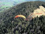Paragliding Fluggebiet ,,Startschneise nach Norden