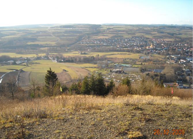 Blick vom Hainberg nach Stadtsteinach