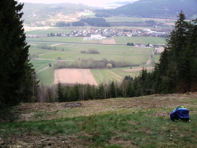 Startplatz Neukenroth am 28.03.07.