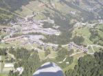 Paragliding Fluggebiet ,,über Valmorel
