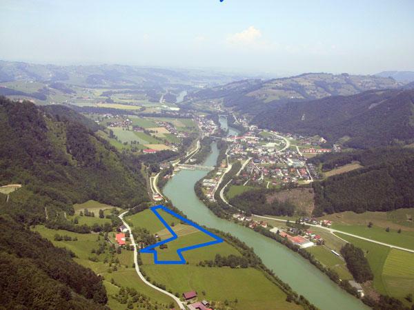 Landeplatz und Ternberg