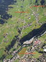 Paragliding Fluggebiet Europa » Schweiz » Bern,Adelboden Schwandfeldspitz (Tschenten),Landeplatz Adelboden