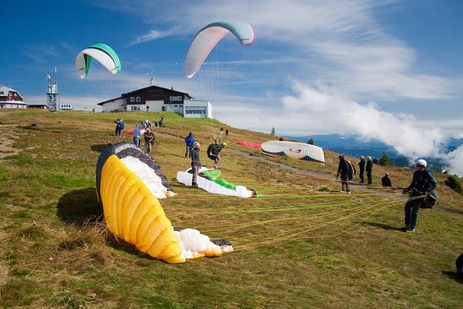 Oststartplatz am Gerlitzen Gipfel