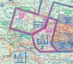 Paragliding Fluggebiet Europa » Österreich » Kärnten,Gerlitzen,Luftraum im Bereich Gerlitzen (mit gelbem X markiert). Mehr Info hier
