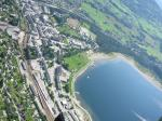 Paragliding Fluggebiet Europa » Norwegen,Hanguren,Landeplatz Minigolfen am See