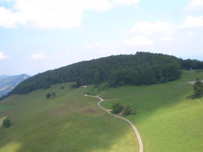 Blick auf den Startplatz (Juni 2007)