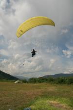 Paragliding Fluggebiet Europa » Norwegen,Vågå,Landung in Vagamo am Luftsportzentrum.