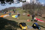 Paragliding Fluggebiet Europa » Schweiz » Solothurn,Niederwiler Stierenberg,Startplatz