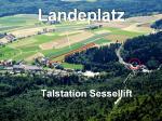 Paragliding Fluggebiet Europa » Schweiz » Solothurn,Weissenstein,Landeplatz
