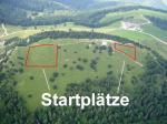 Paragliding Fluggebiet ,,....noch mit eingezeichneten Startplätzen
