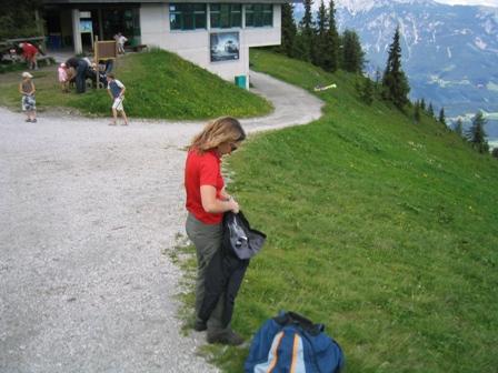 Startplatz Planai Bergstation.