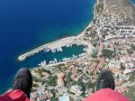 Paragliding Fluggebiet Asien » Türkei,Kaş,FlyingFish Oktober 2005 Tandemlandeplatz