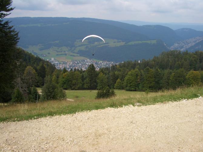 Startplatz Mont de Graitery