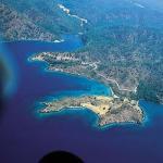 Paragliding Fluggebiet Asien » Türkei,Mugla - Sendeturm,Gökova-Mugla Luftbild