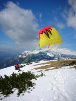 Paragliding Fluggebiet Europa » Österreich » Steiermark,Stoderzinken,Süd SP - Blickrichtung Dachstein 04/2007